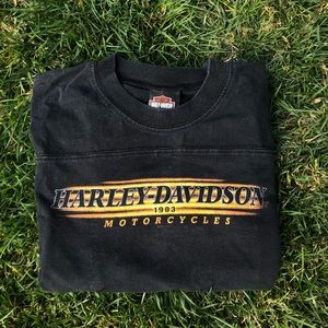 Authentic Harley Davidson Vintage T Size Medium
